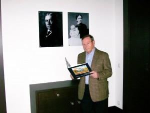 Klaus Degner hat ein Buch über die Villa und ihre Erbauer geschrieben.